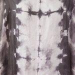 silk dress clam black detail